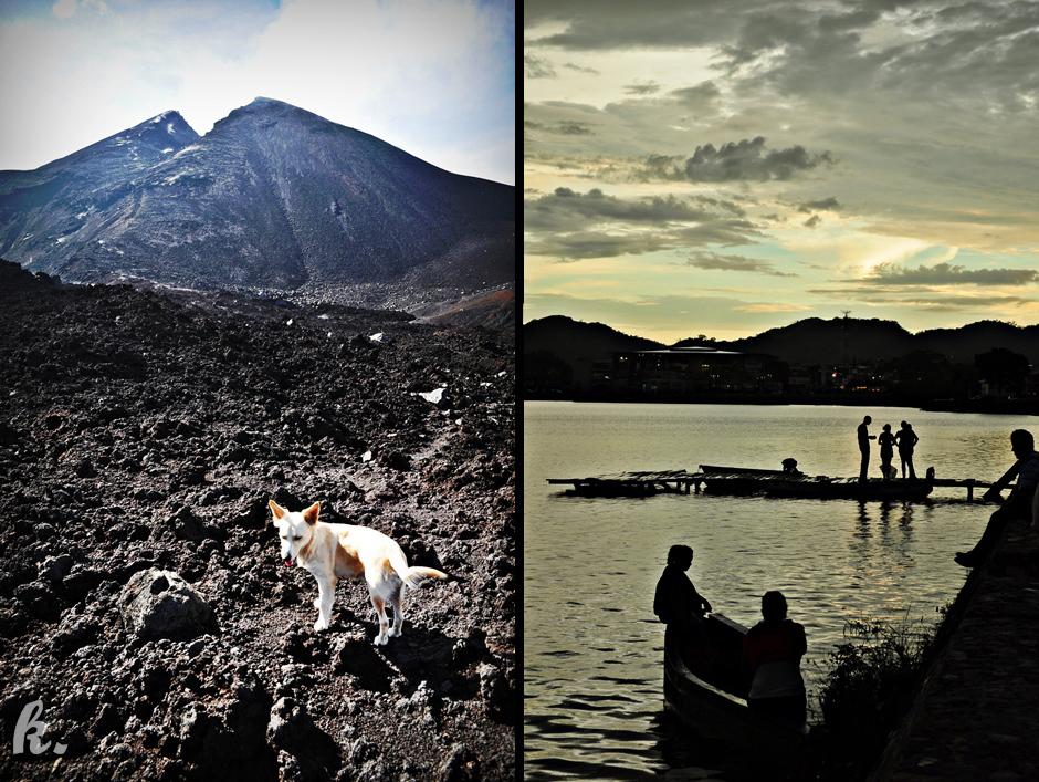 Wulkan w Ameryce Środkowej - foto, Gwatemala