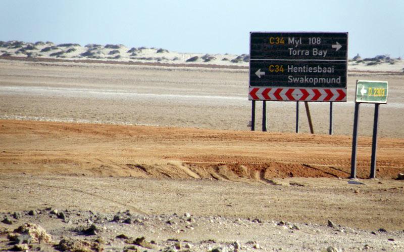 Bezdropża Namibii - podróże