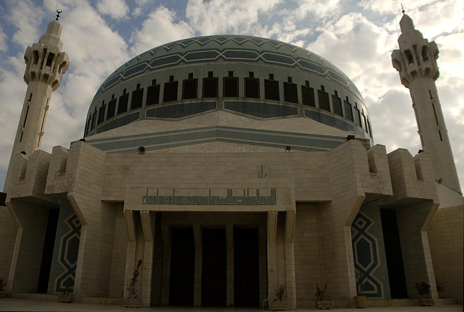 Meczet króla Abd Allaha - wycieczka po Ammanie - foto