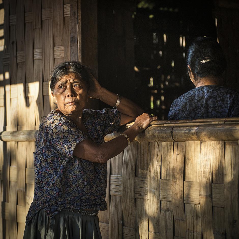Zdjęcia z gór Bangladeszu