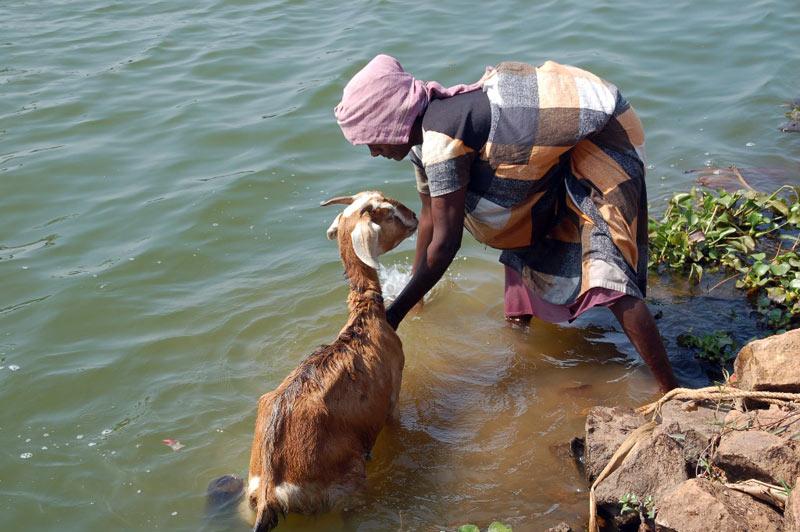 Życie mieszkańców Kerali w Indiach