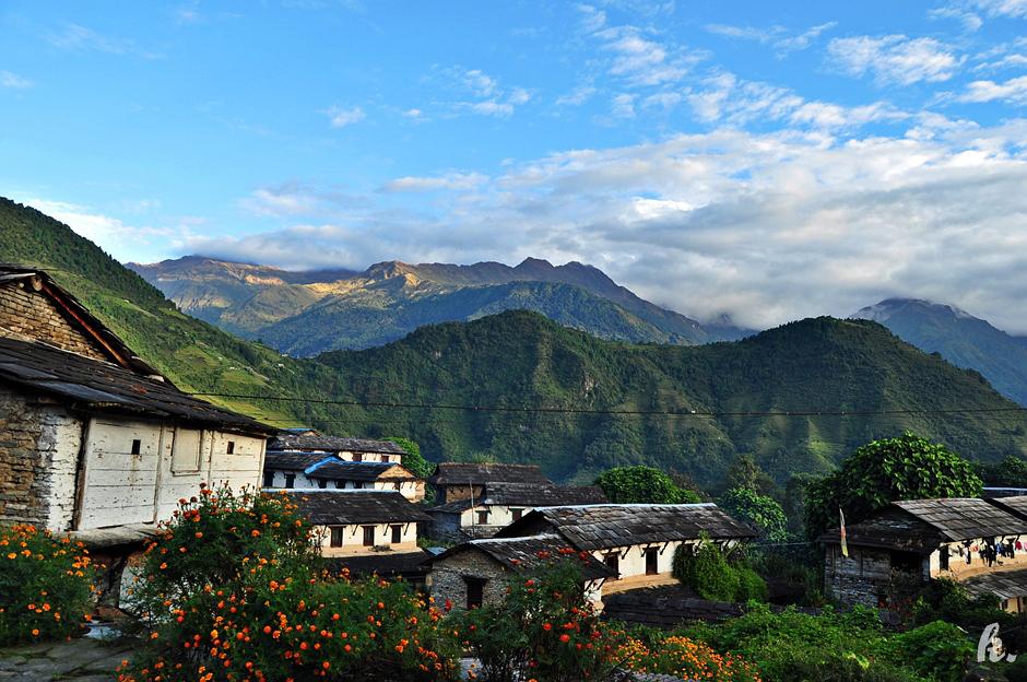 Zdjęcia z trekkingu w Himalajach