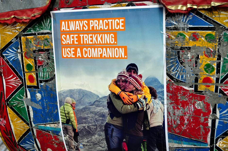 Ostryeenie dla turzstw wzrusyajczch na trekking w Nepalu