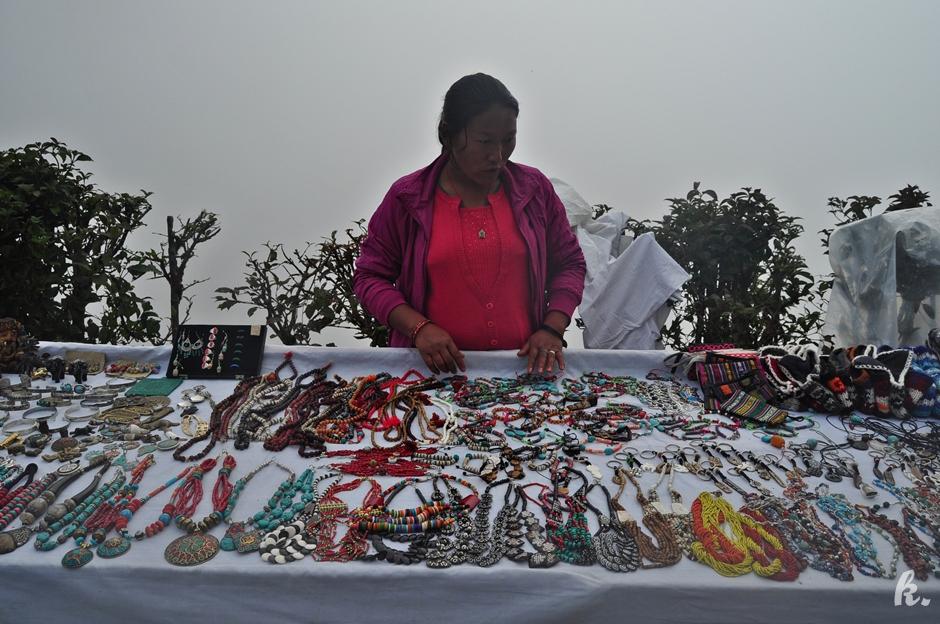Nepalscy handlarze - foto