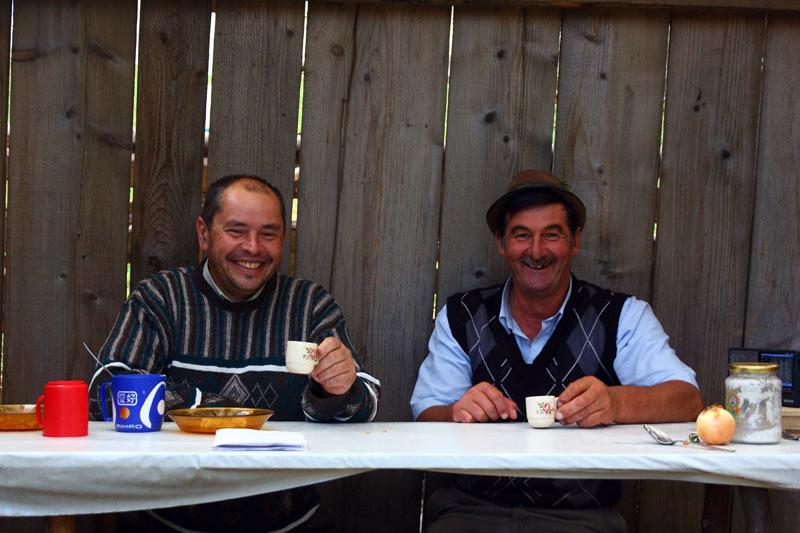 Pokaz zdjęć z podróży - pasterze z Rumunii