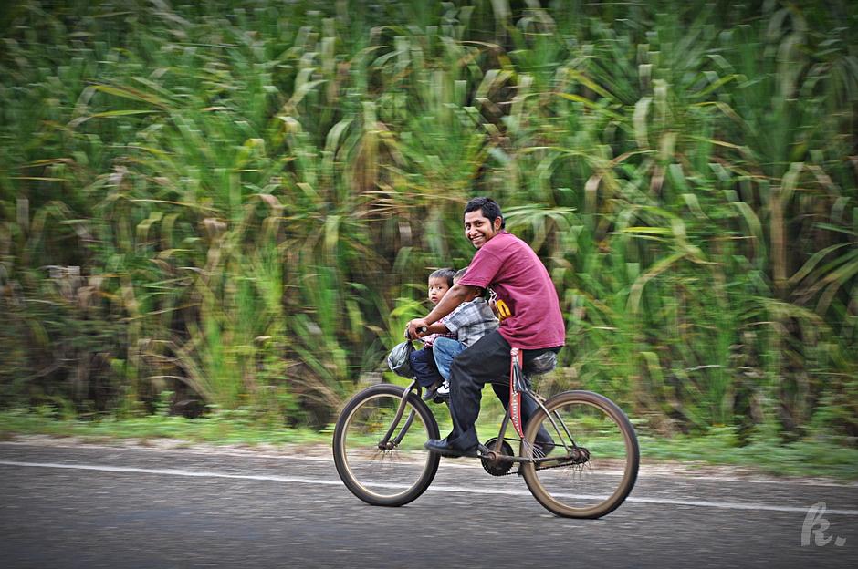 Rowerem po Belize