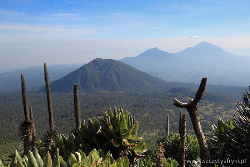 Góry Afryki - Karisimbi w Rwandzie