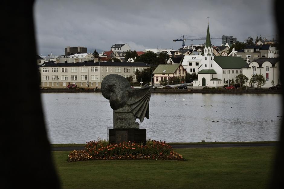 Reykjavik - stara część miasta - foto
