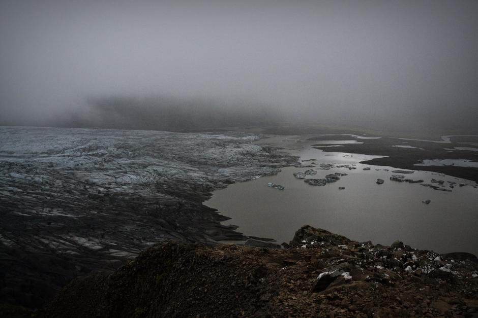 Lodowce to nieodłączny krajobraz Islandii - foto