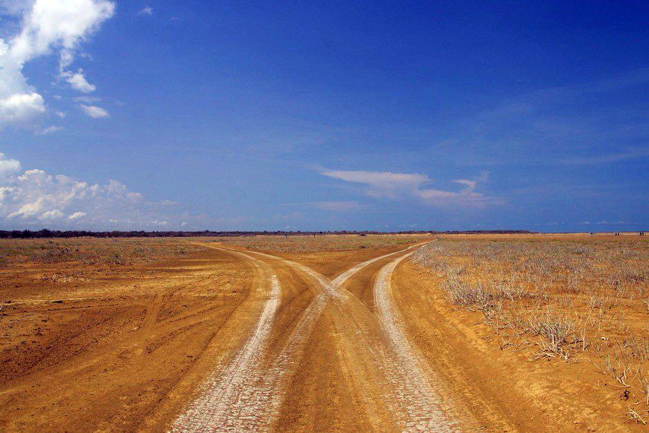 Kolumbia. Droga przez pustynię