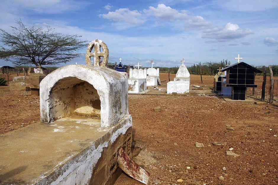 Cmentarz na pustyni - zdjęcia z podróży przez kolumbię