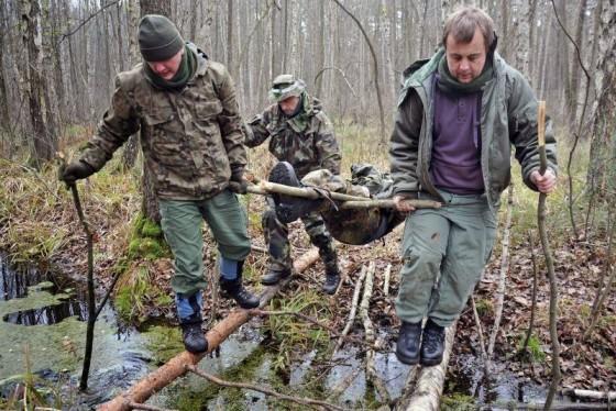 Survival w lesie