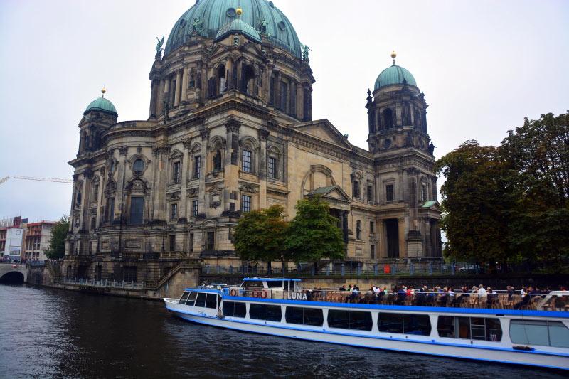 Rzeka Sprewa w Berlinie