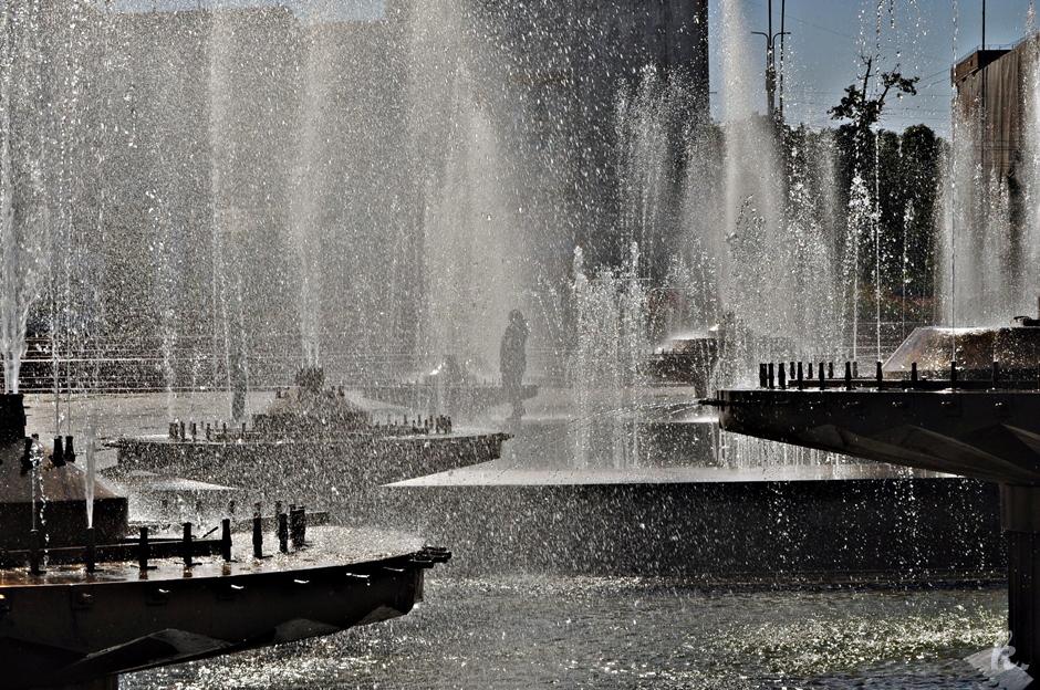 Fontanny w Biszkeku