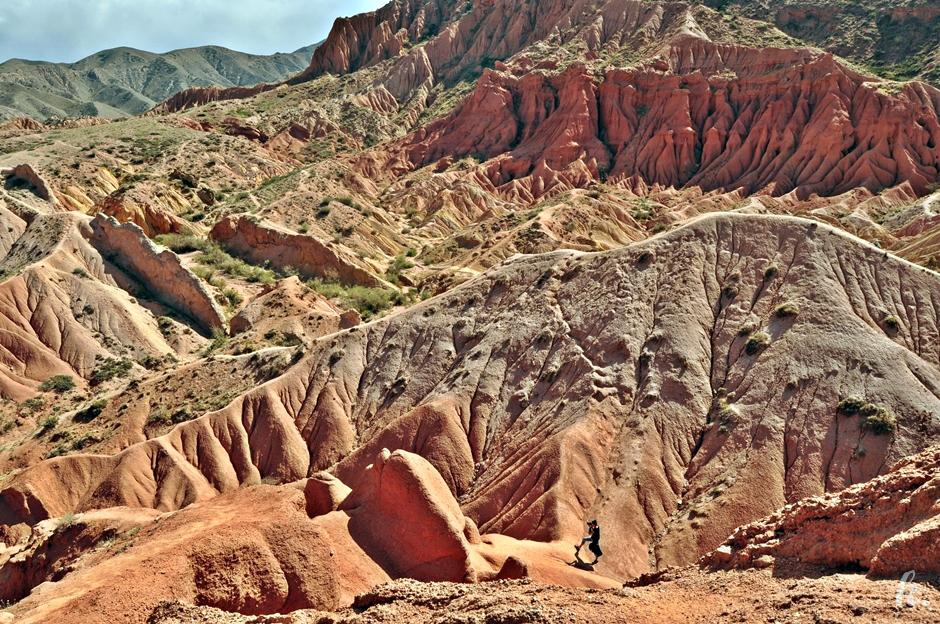 Bajkowy kanion w Kirgistanie
