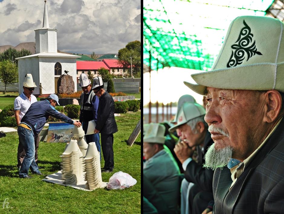 Tradycyjne nakrycie głowy Kirgizów