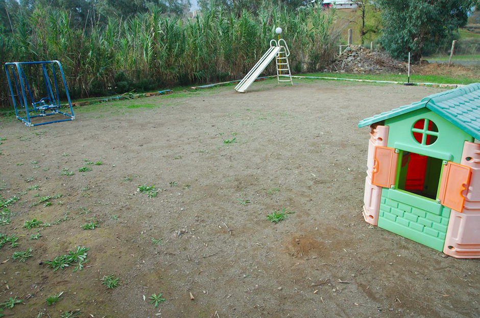 Marokański plac zabaw dla dzieci