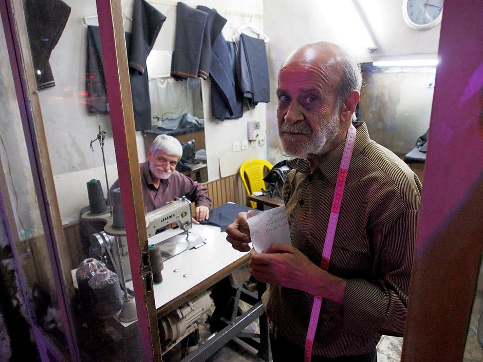 Krawiec z Iranu - foto z wyprawy