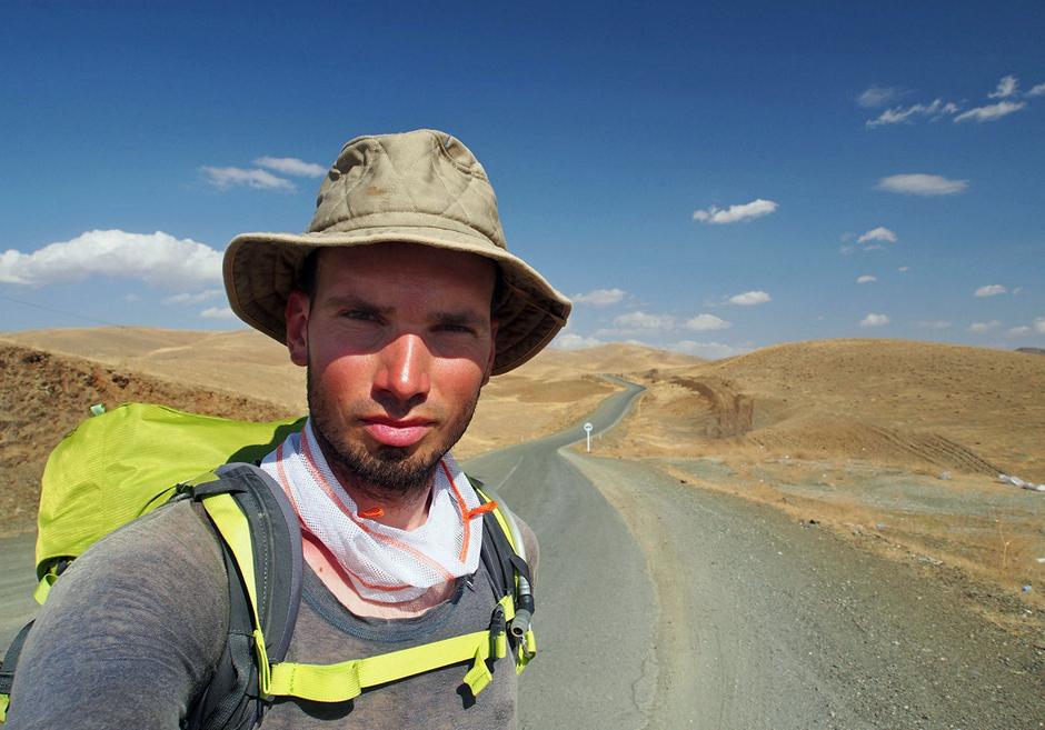 Łukasz Supergan w Iranie - samotny podróżnik
