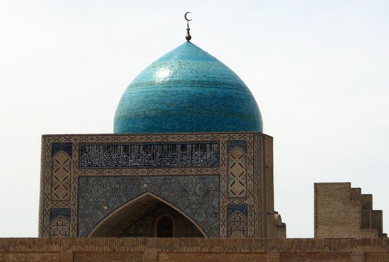 Meczet w Samarkandzie -= podróż do Uzbekistanu