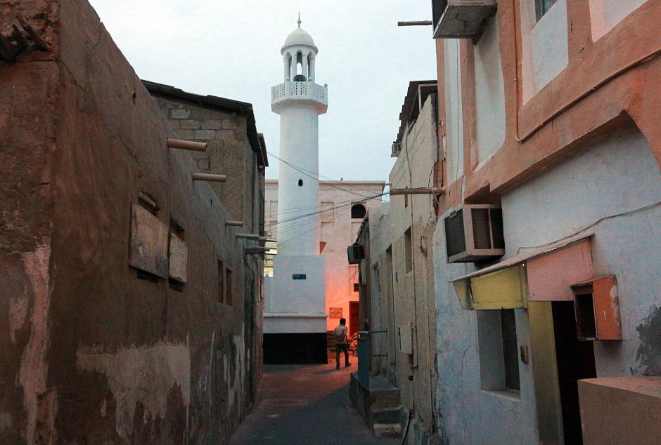 Stara dzielnica Manamy - zdjęcia z podróży do Bahrajnu