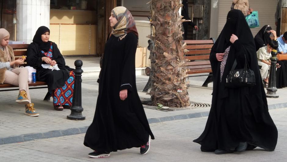 Modne arabskie kobiety - zdjęcia z Kuwejtu