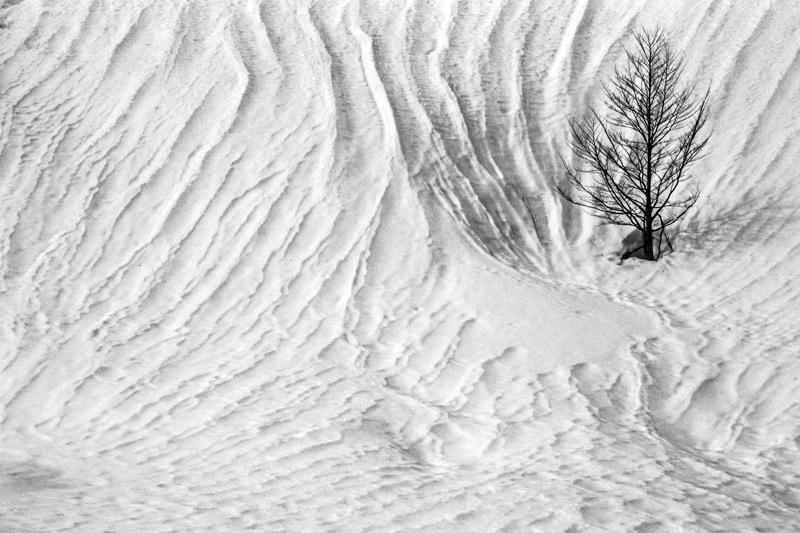 Francuskie Pireneje zimą