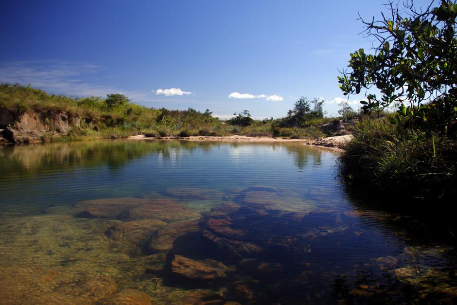 Jezioro w Wenezueli - zdjęcia z podróży rowerowej