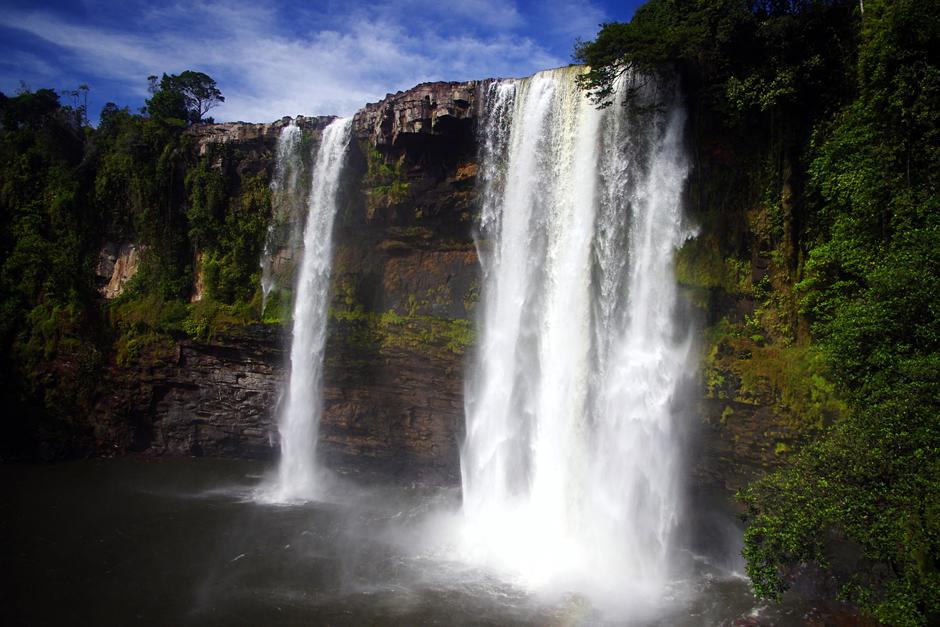 Gran Sabana w Wenezueli, wodospad Kama - foto