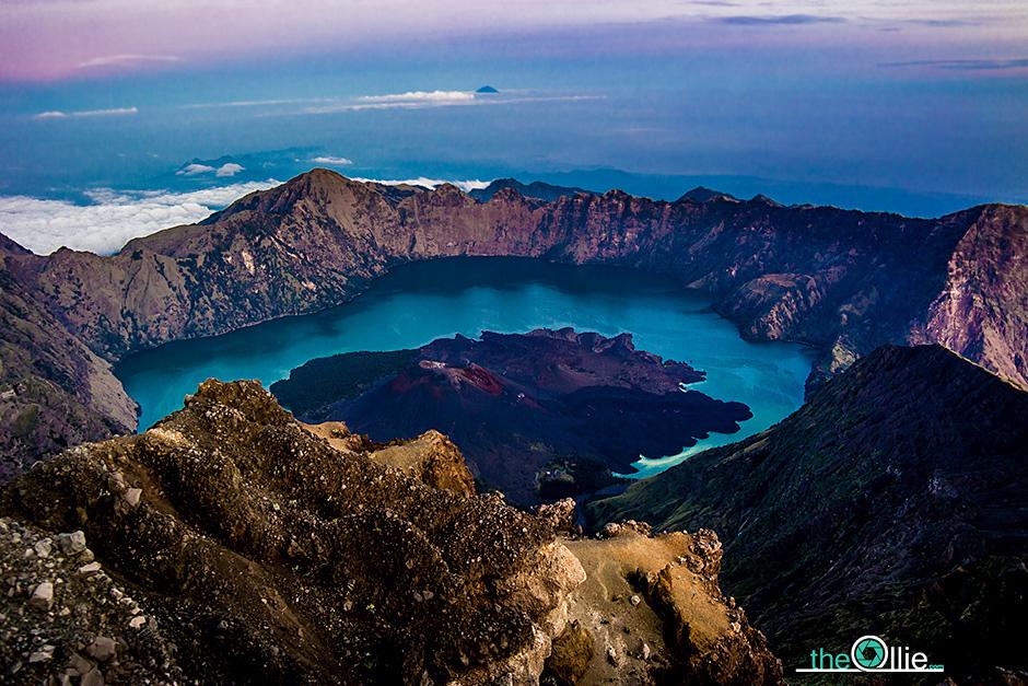 Trekking na indonezyjskiej wyspie Lombok - zdjęcia