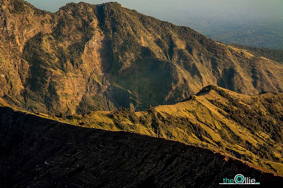 Krajobrazy Indonezji - wulkan Gunung Rinjani