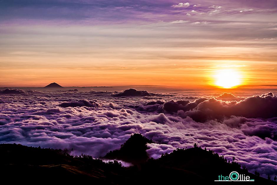 Zdjęcia z podróży do Indonezji - zachód słońca na Lombok