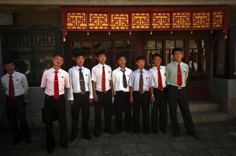 Studenci z Korei Północnej - zdjęcia z podróży