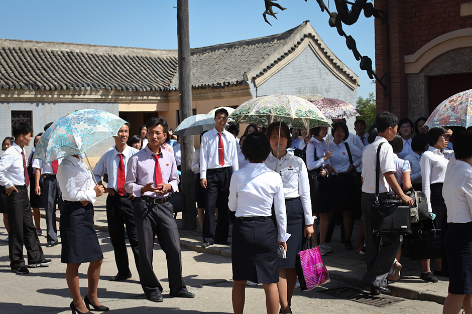 Podróż do Korei Północnej - zdjęcia z wytwórni filmowej