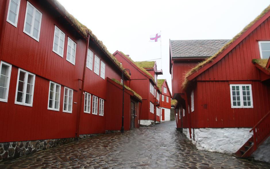 Stara zabudowa Tórshavn - foto