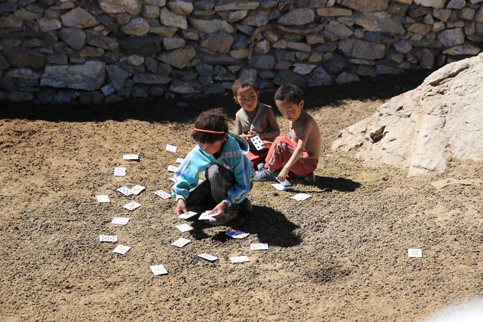 Zdjęcia podrózników z Nepalu