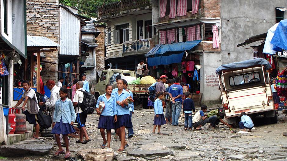 Dzieciaki z Nepalu - fotki