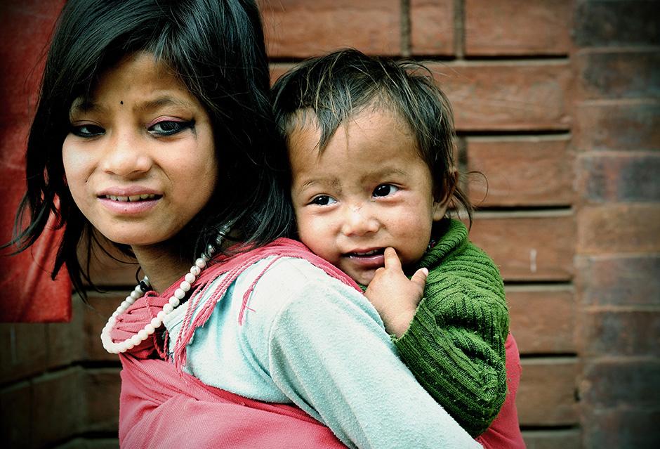 Dzieci Nepalu - zdjęcia