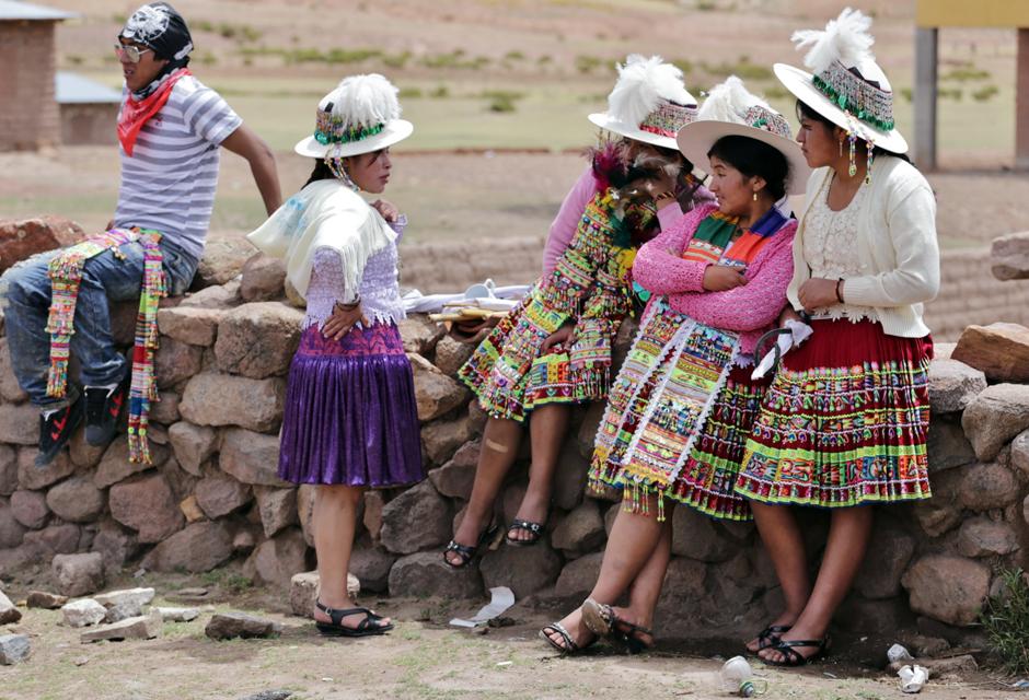 Dziewczyny z Boliwii