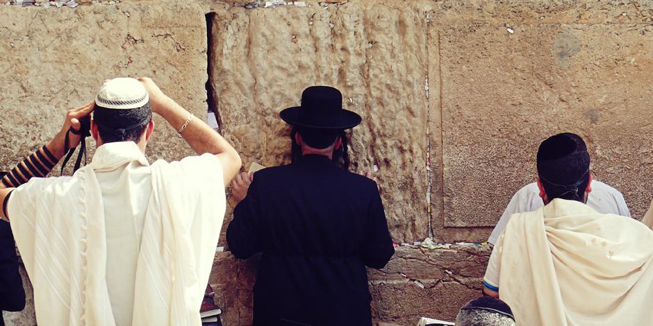 Żydzi pod Ścianą Płaczu