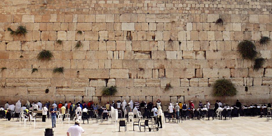 Ściana Płaczu 0 najświetsze miejsce w judaizmie