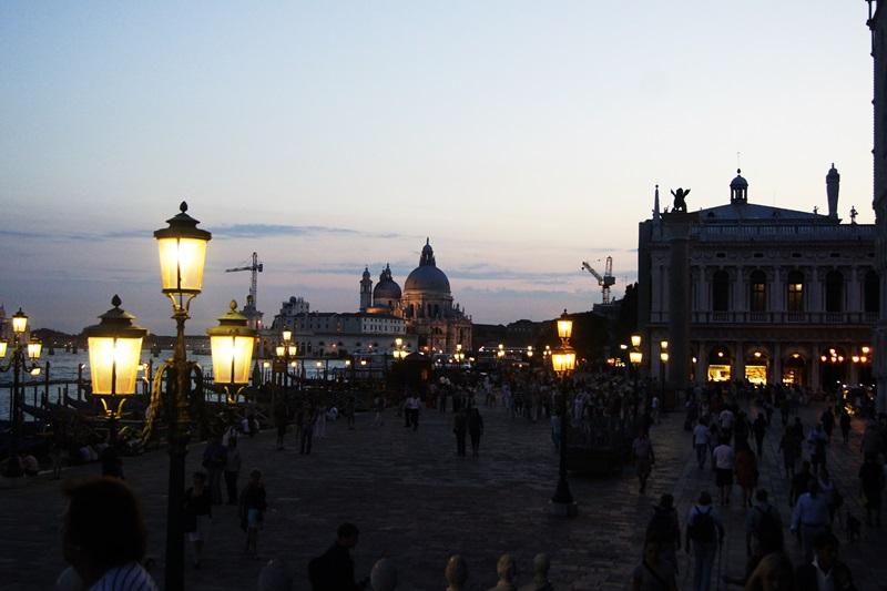 Turyści w Wenecji