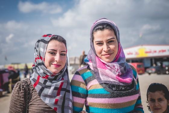 Uchodźcy - syryjskie kobiety