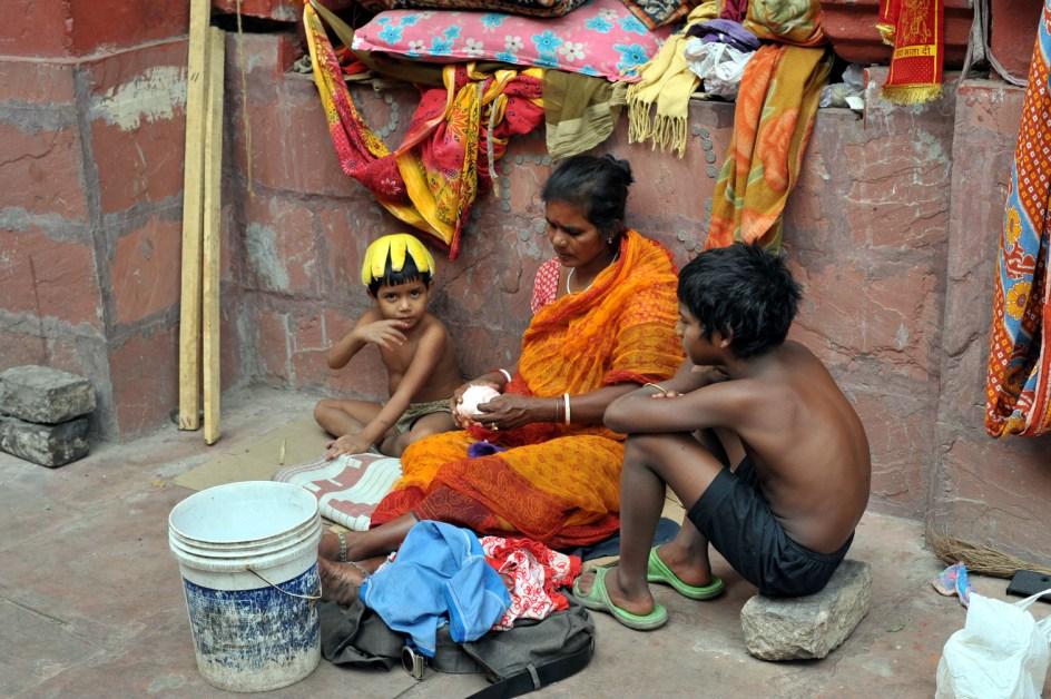 Życie na ulicy w Kalkucie - foto
