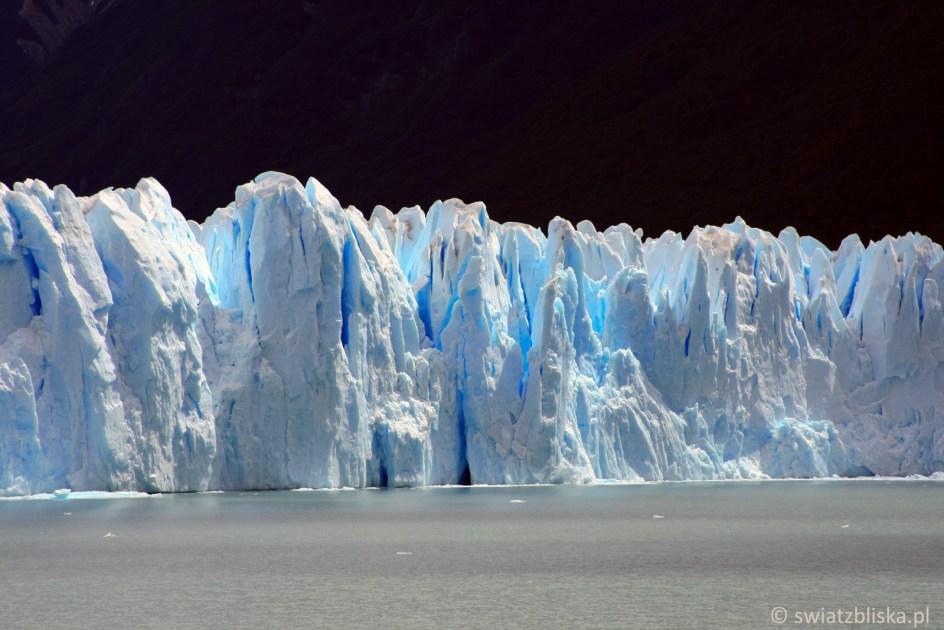 Podróż do ARgentyny - zdjęcia z lodowca