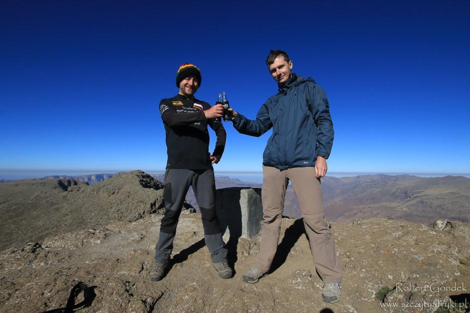 Ras Dashen - najwyższy szczyt Etiopii w górach Semien