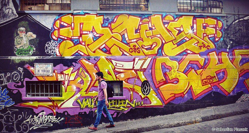 Graffiti w Ameryce Południowej, Chile
