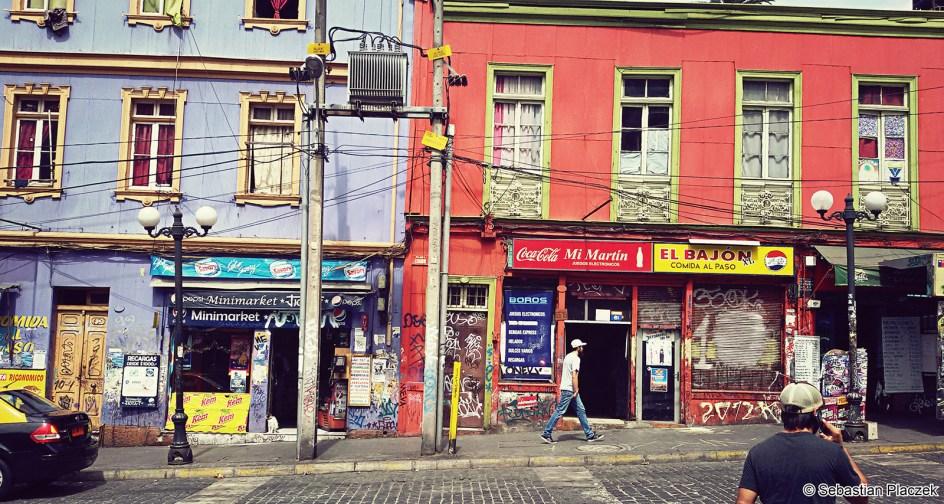 Valparaiso - podróż po Chile