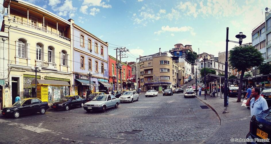 Valparaiso - portwe miasto w Chile