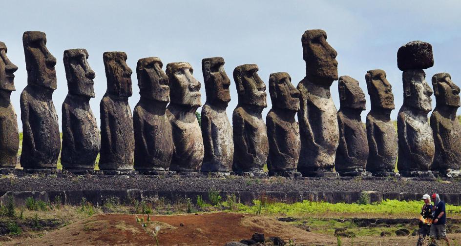 Tonagriki - zdjęcia z podróży na Wyspę Wielkanocną